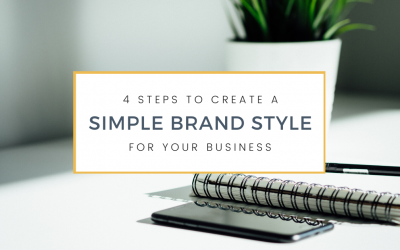 4 Steps to Create a Simple Brand Style