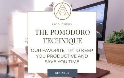 Productivity Tip: The Pomodoro Technique