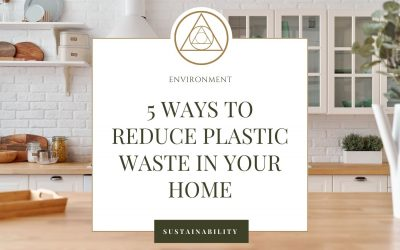 5 Ways to Reduce Plastic Waste in Your Home